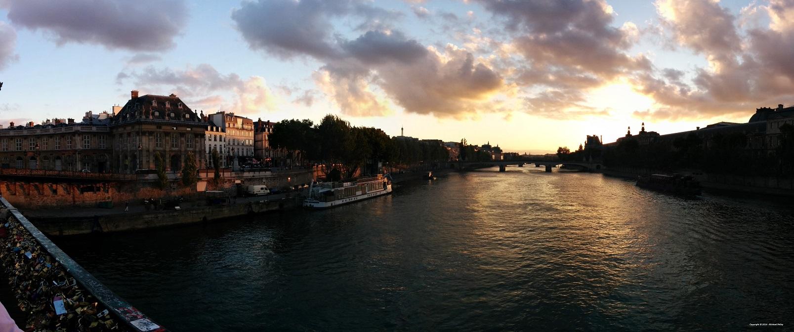 Paris, The Seine and The Lock Bridge 2014 (small)