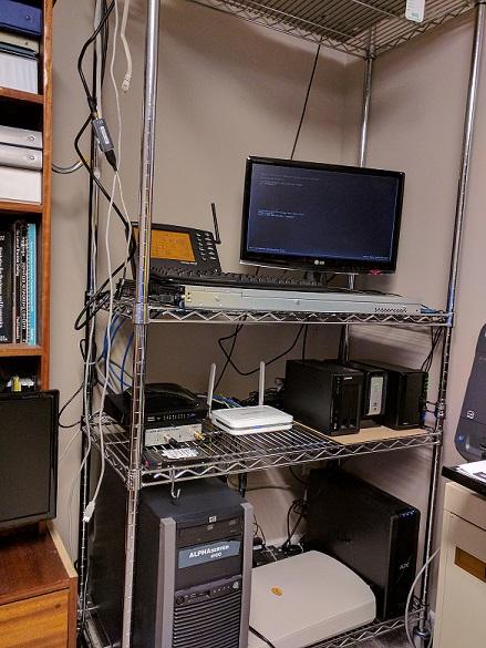 Homemade Server Rack – Work-in-Progress